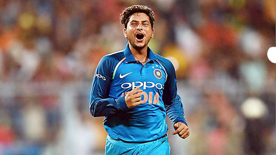 Kuldeep yadav talks in a press conference