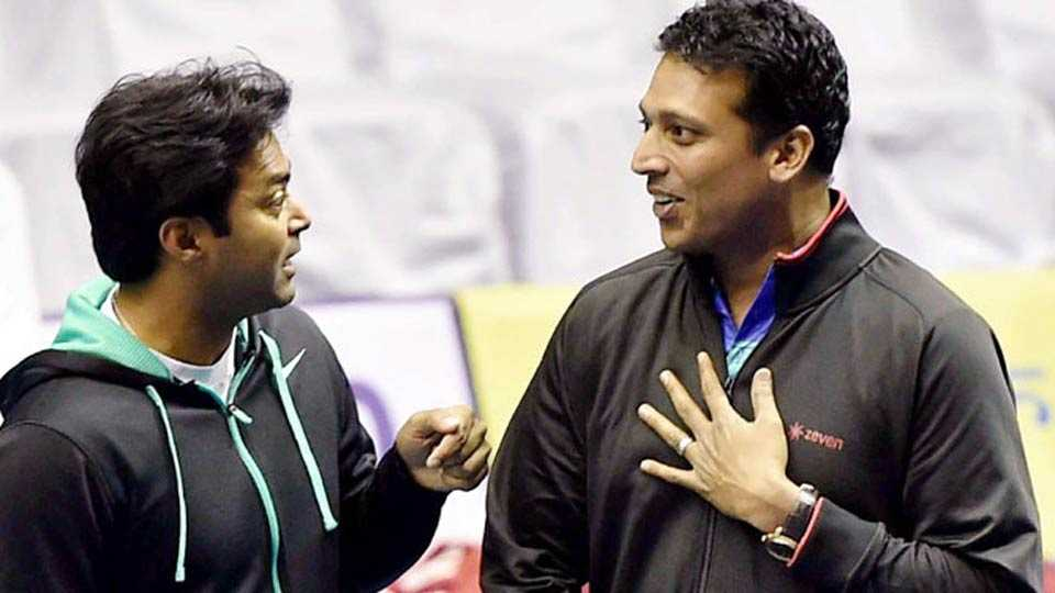 mahesh is my good friend : leander paes