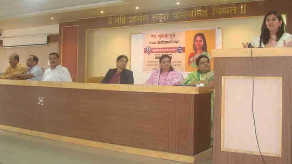 Women need legal awareness said adv divya chavhan jachak
