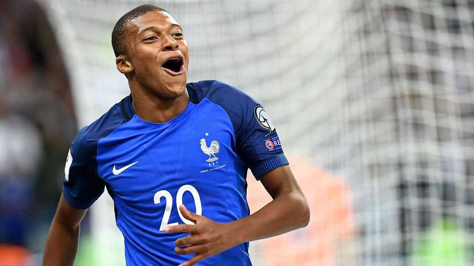 Kylian Mbappe Donating match fees to Charity