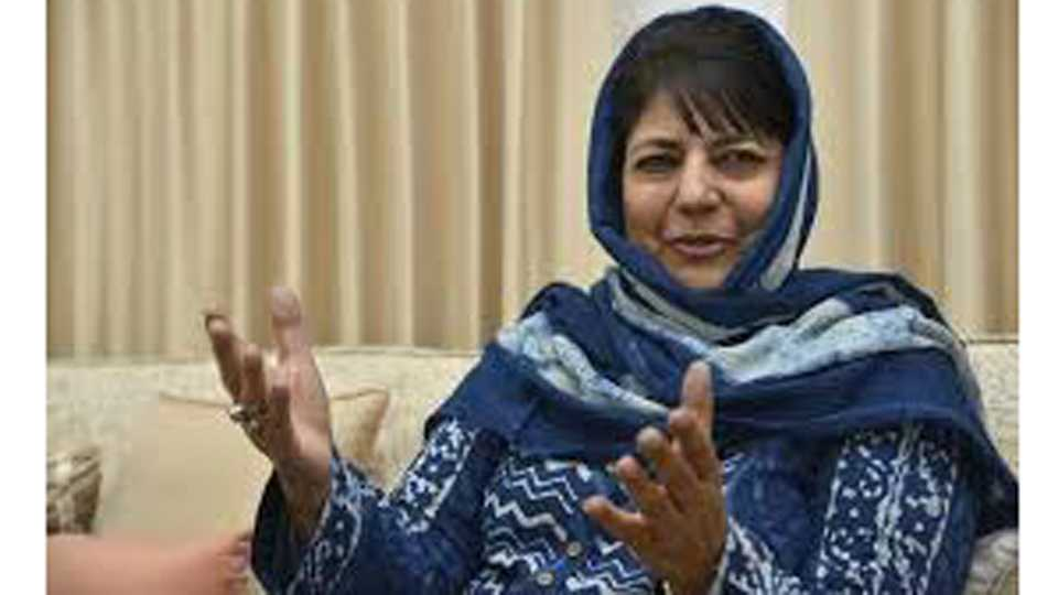 In Every Decision BJP was with us says Mehbooba Mufti
