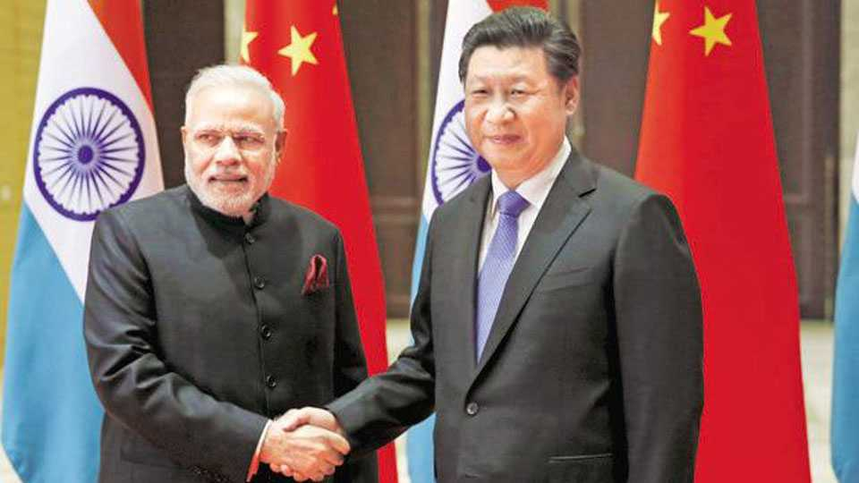 modi chi jinping again meeting