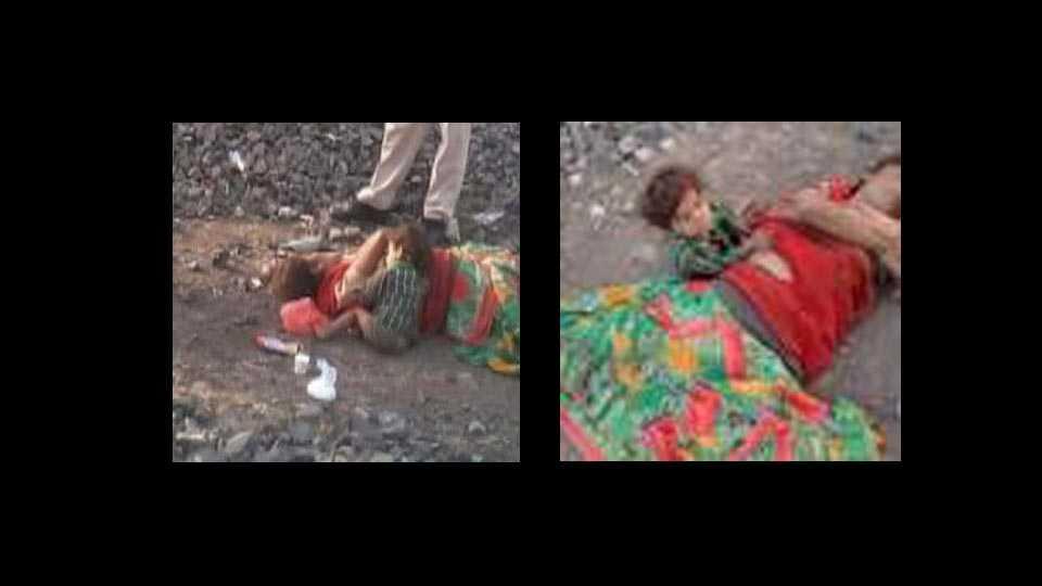 bhopal: Child found breastfeeding on dead mother