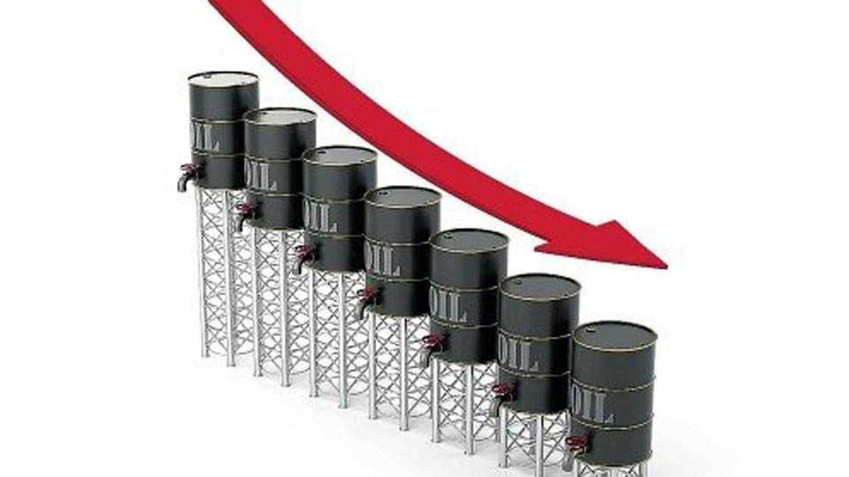 oil production Decreases