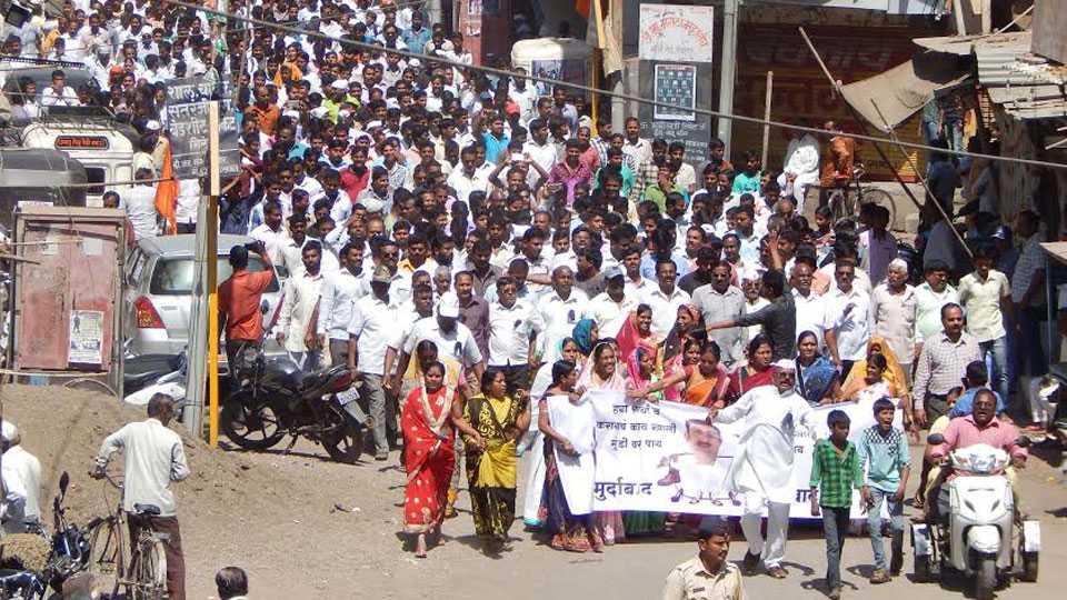 Prashant Paricharak controversial statement Pandharpur Bandh