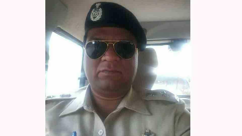Police superintendent Sanjay Jadhav at nanded
