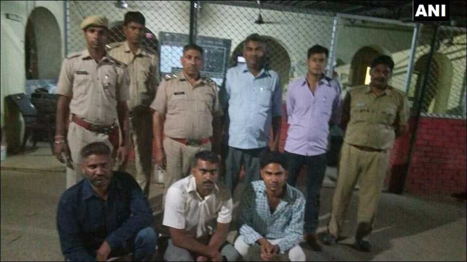 rajasthan 3 persons arrested in connection with an attack by cow vigilantes