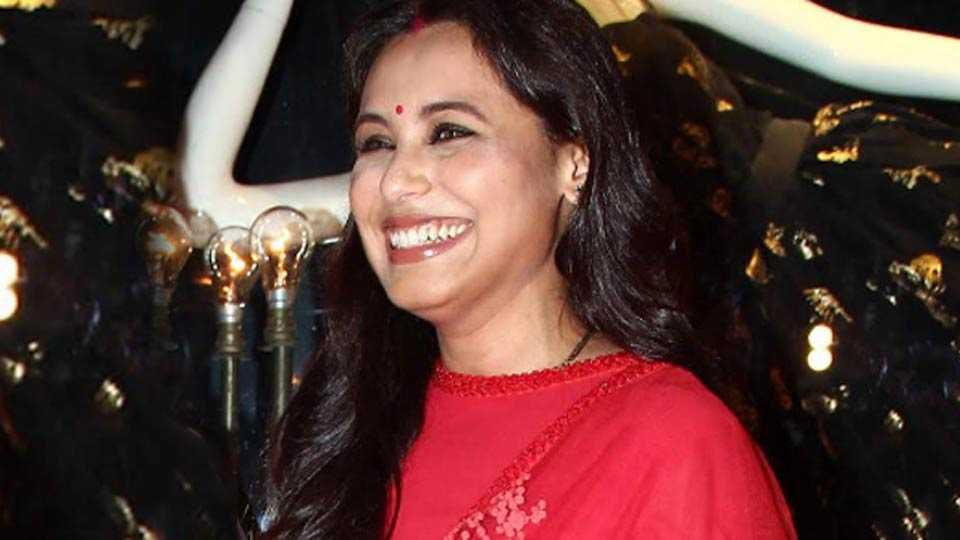 Rani mukharji come back