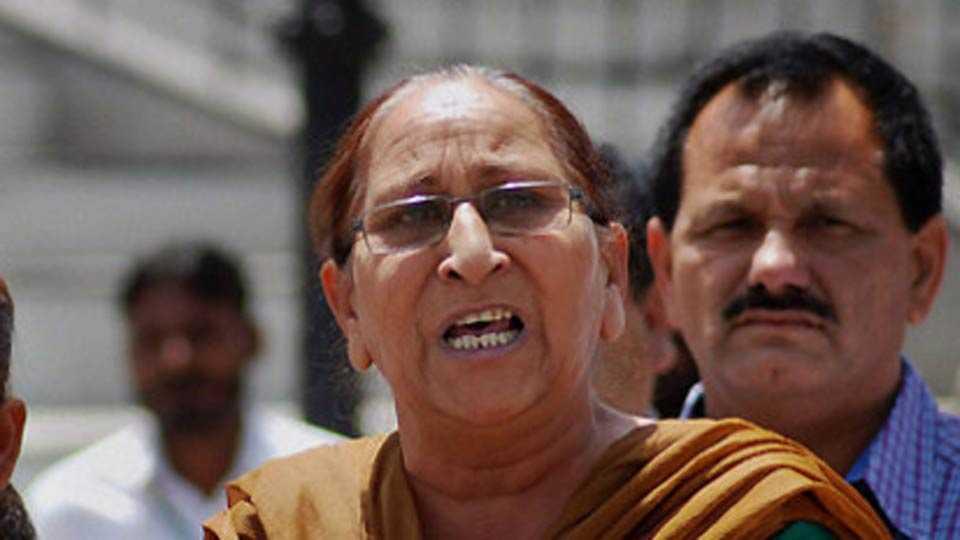sarabjits sister dalbir kaur joins bjp
