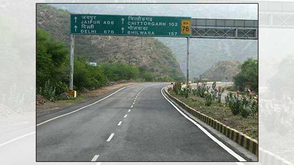 rajasthan roads