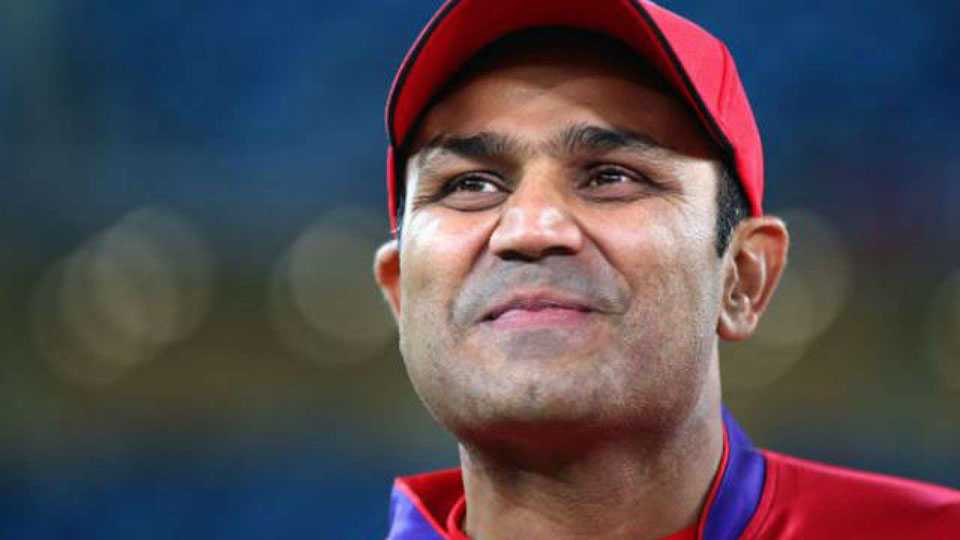 Sehwag tweets about football worldcup