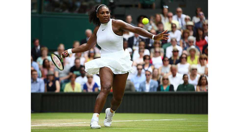Serena Williams into Semi Final of Wimbledon