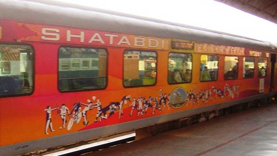 Fares for 25 shatabdi express trains likely to come down soon