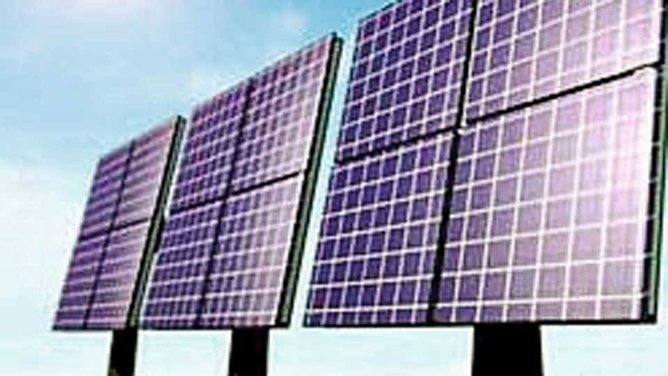 Solar Power Project will be set up on 14 buildings of the University