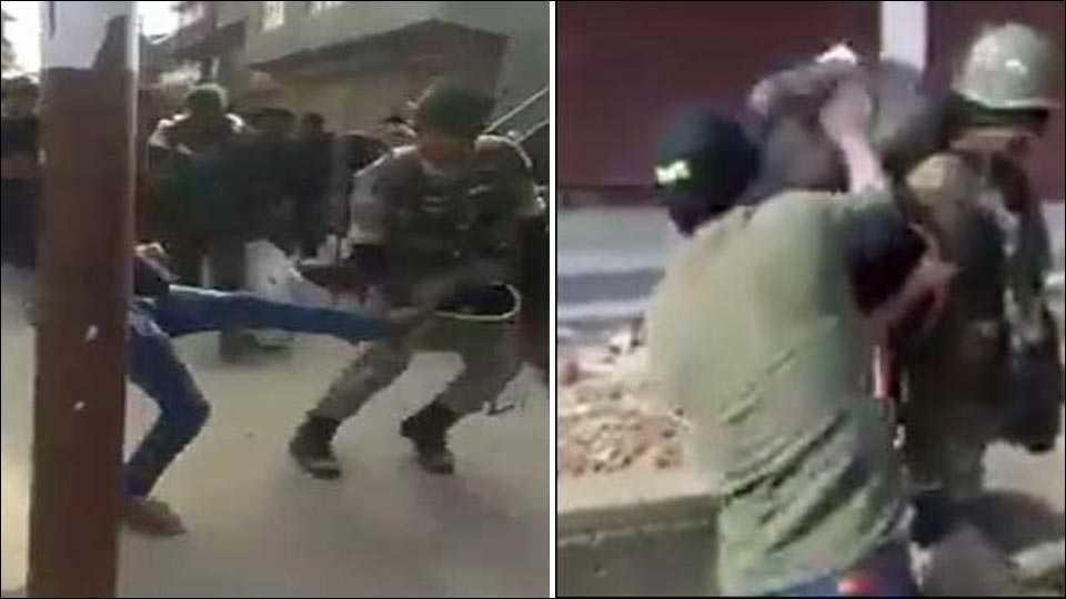 Jawan, Slapped And Kicked By Mob In Srinagar, Video viral