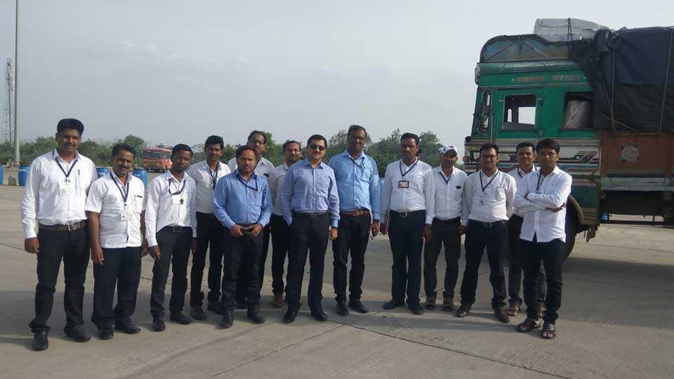 E-Way-Bail inspection under GST Maharashtra- Telangana border