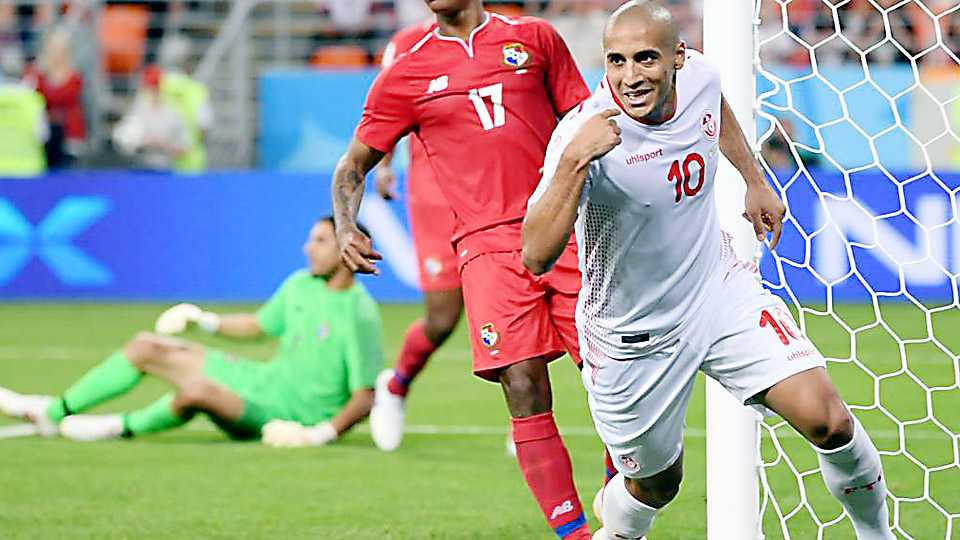 Tunisia's world cup ends with a win