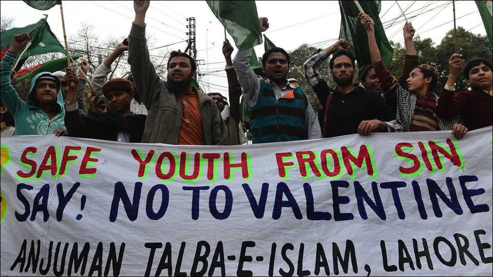 Pakistan court bans Valentine's Day celebrations