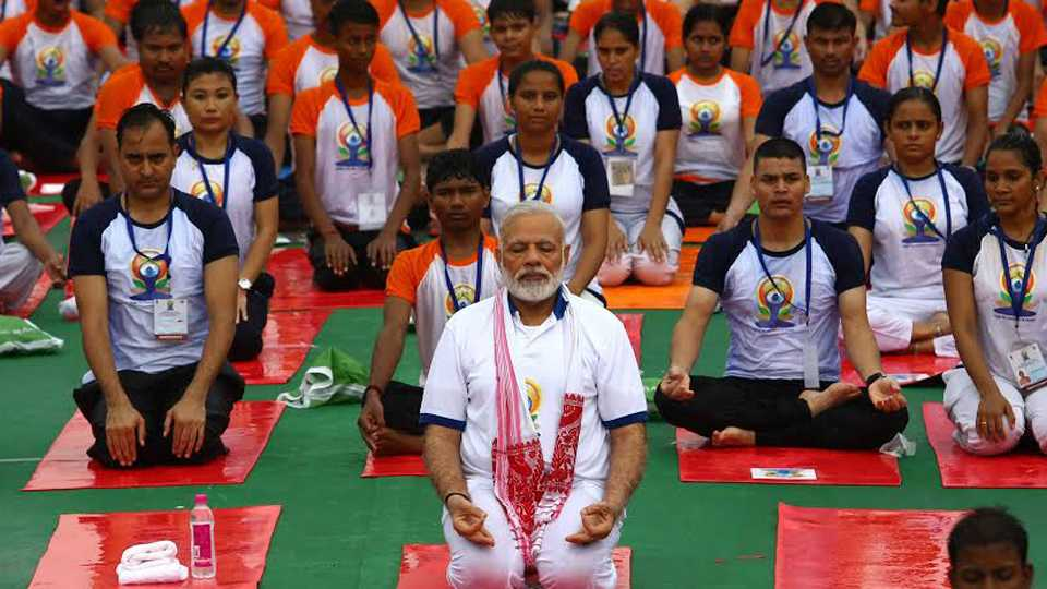 International Yoga Day: PM Modi Leads Celebrations in Lucknow