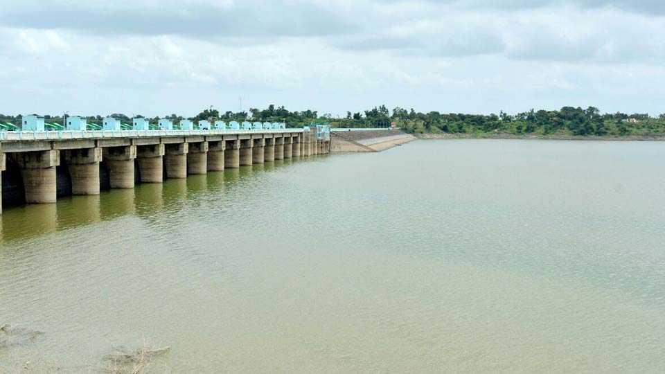 girna dam water