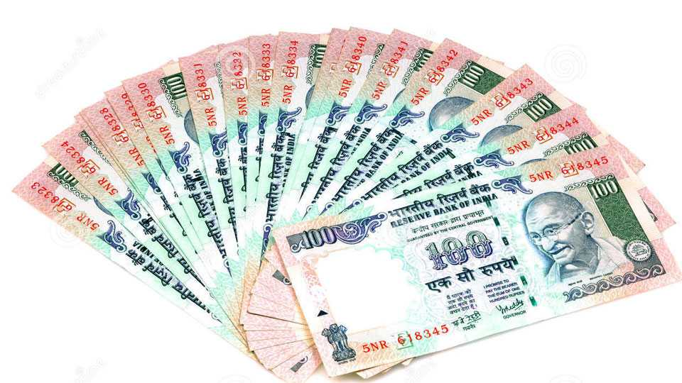 100 rupee notes