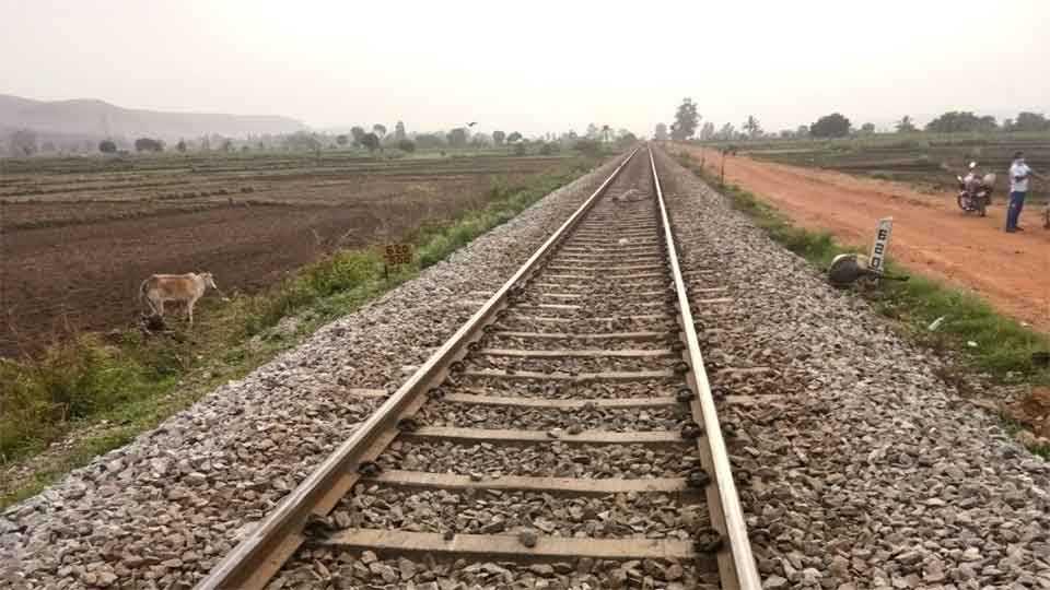 मुचंडी -याच रेल्वे रुळावर अपघात घडला.