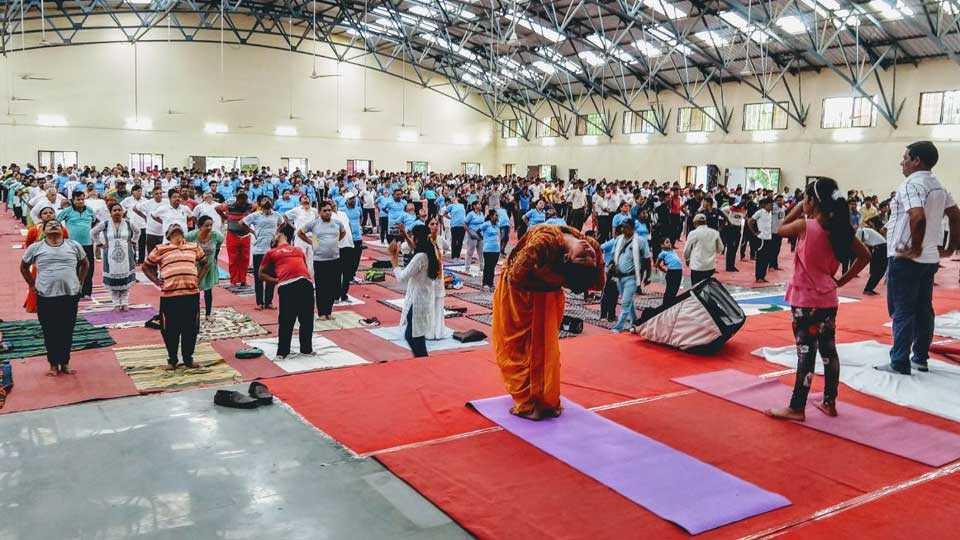 Dr. Punjabrao Deshmukh Agricultural University celebrates Yoga Day