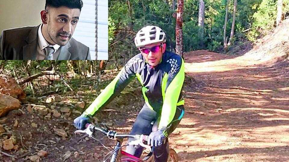 Amit sadh fitness cycling