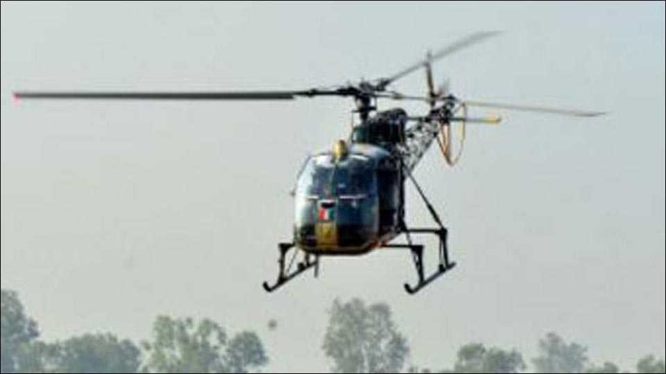 3 Army officers killed as copter crashes at Sukna