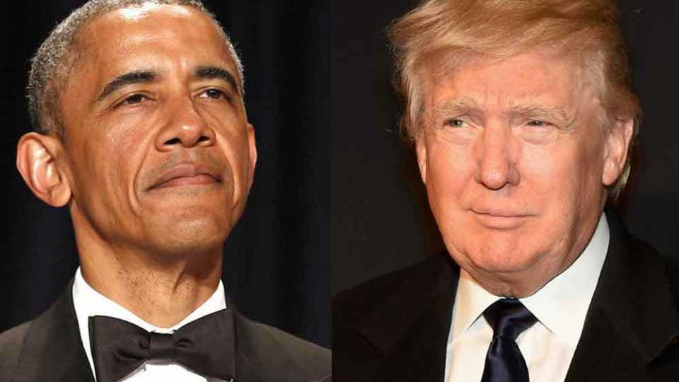 Donald Trump Obama