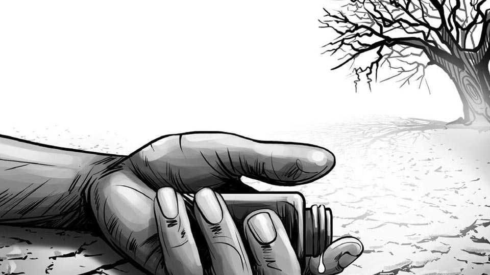 Marathi news akola news farmer commits suicide