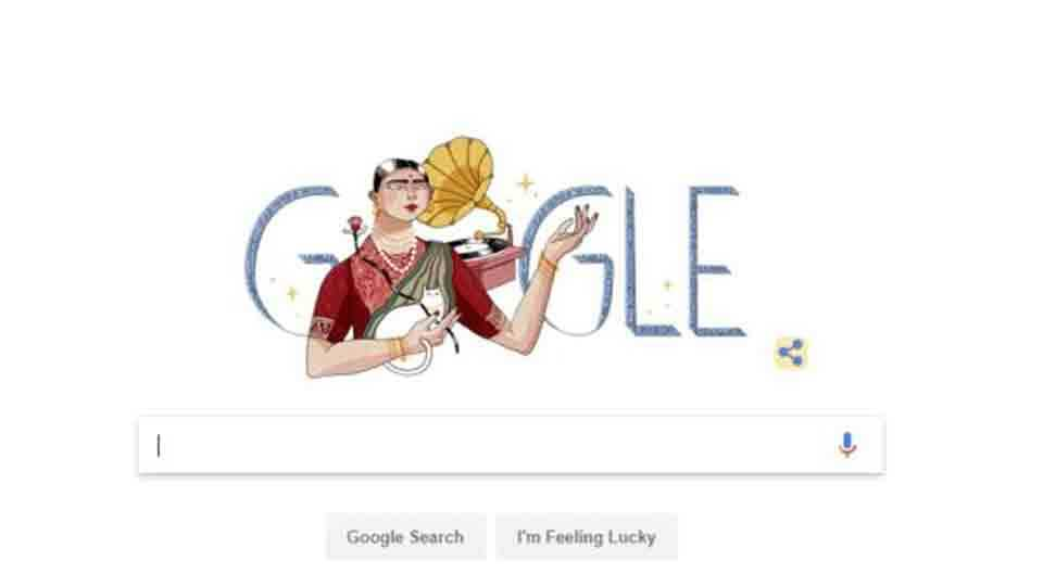 Google Doodle Dedicated To Indias First Rich Women Singer Gauhar Jaan
