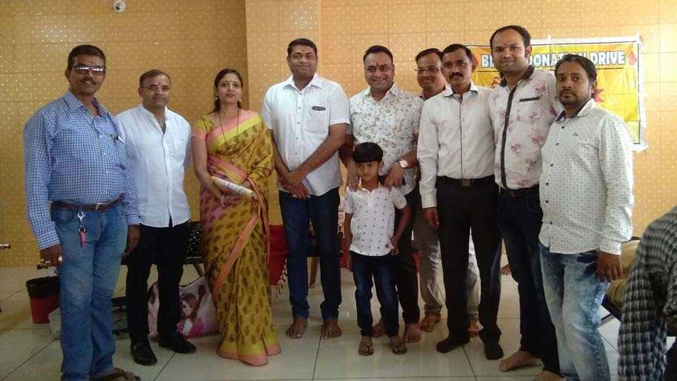 Blood Donation Camp Organised By Gurjar kshatriya kadiya samaj