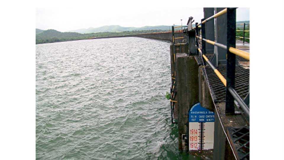 Khadakwasala Dam Water
