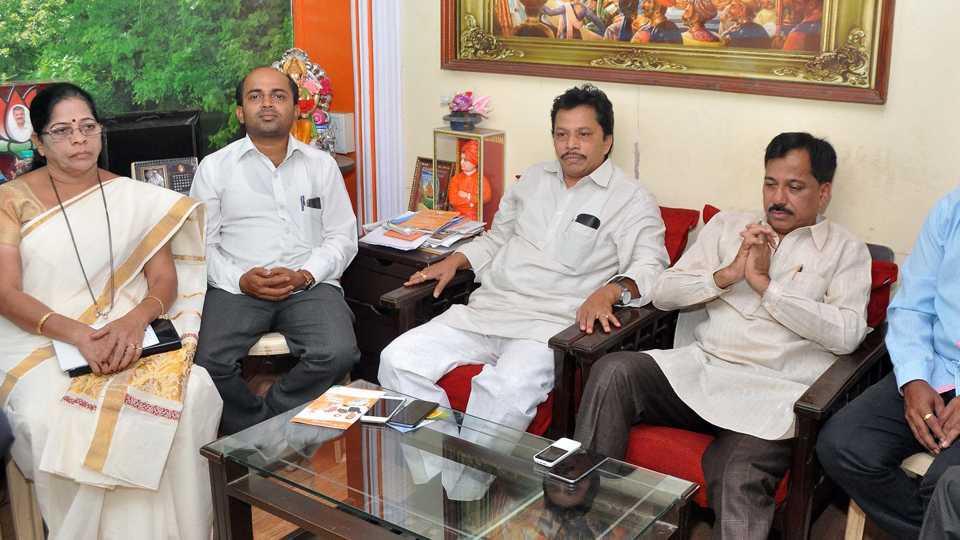 Meeting of BJP leaders
