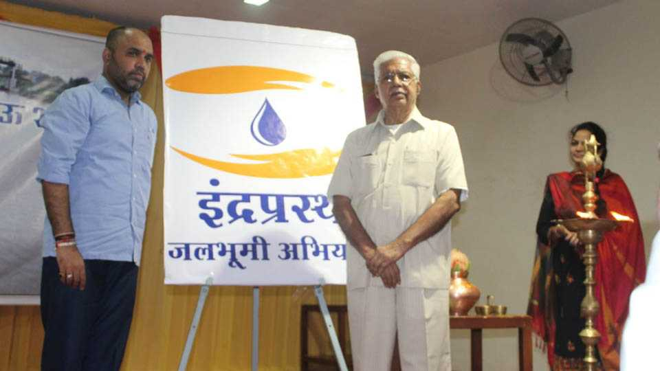 Indraprastha Jalbhumi campaign for Laturs drought
