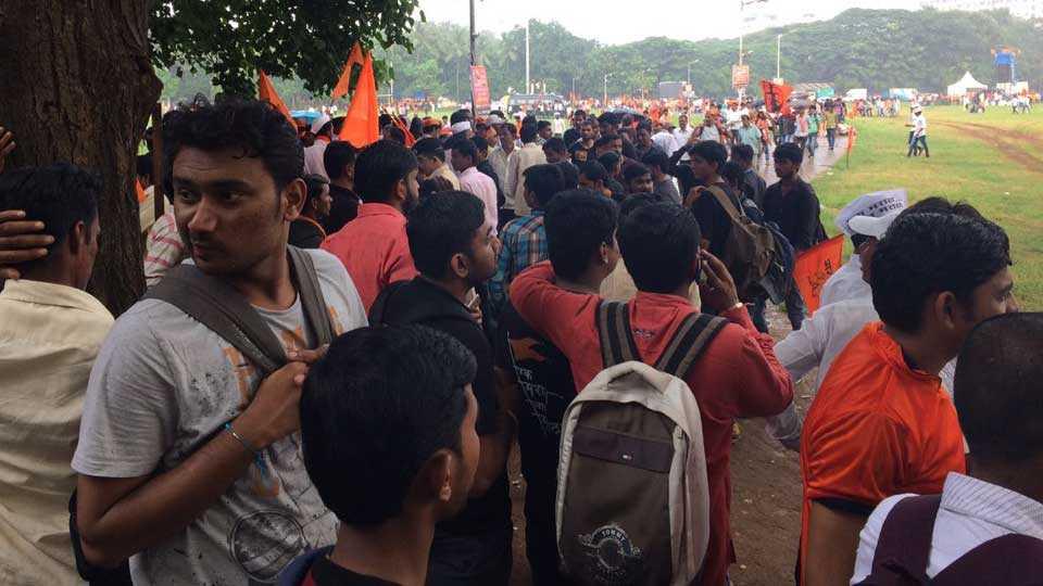 Maratha Kranti Morcha In Mumbai Maratha In Mumbai Marathi News