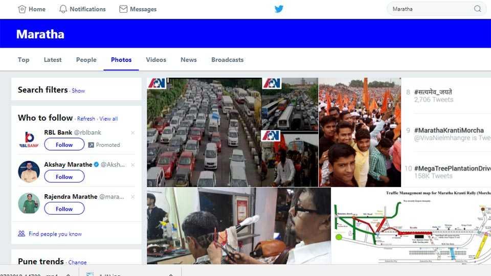 Maratha Kranti Morcha In Mumbai MarathaInMumbai Twitter Trend