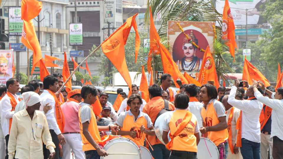 In the Aurangabad rally of Mahatma Baseeshwar