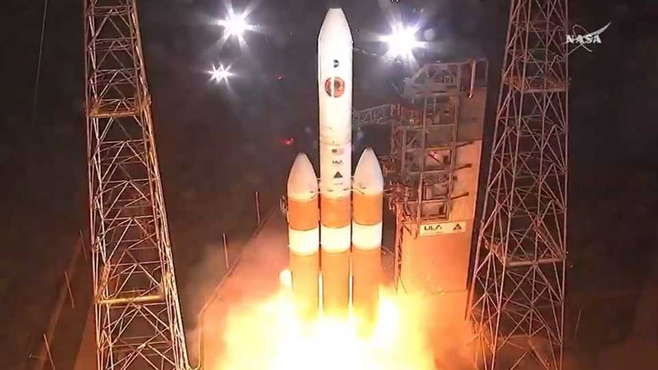 Nasa's Parker Solar Probe spacecraft launches successfully