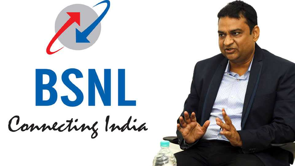 Marathi news bsnl news nitin mahajan coffee with sakal Nashik news