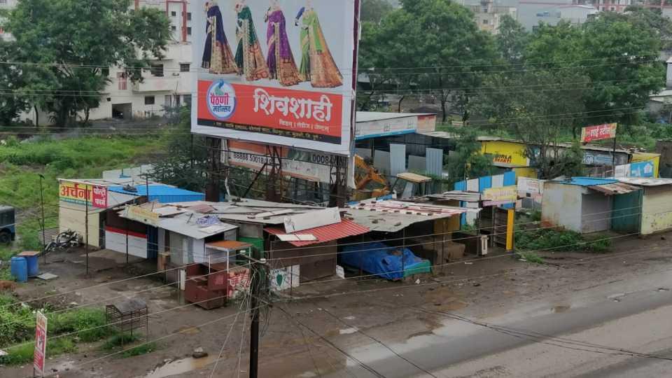 #MaharashtraBandh Pirangut huge support for Bandh
