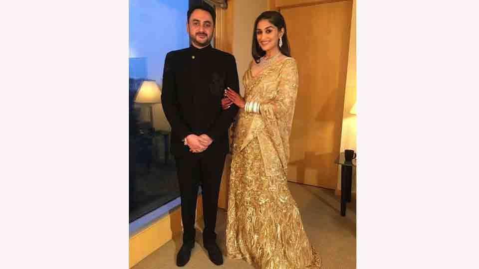 Praful Patel Daughter Poorna Patels Marriage Ceremony In Mumbai