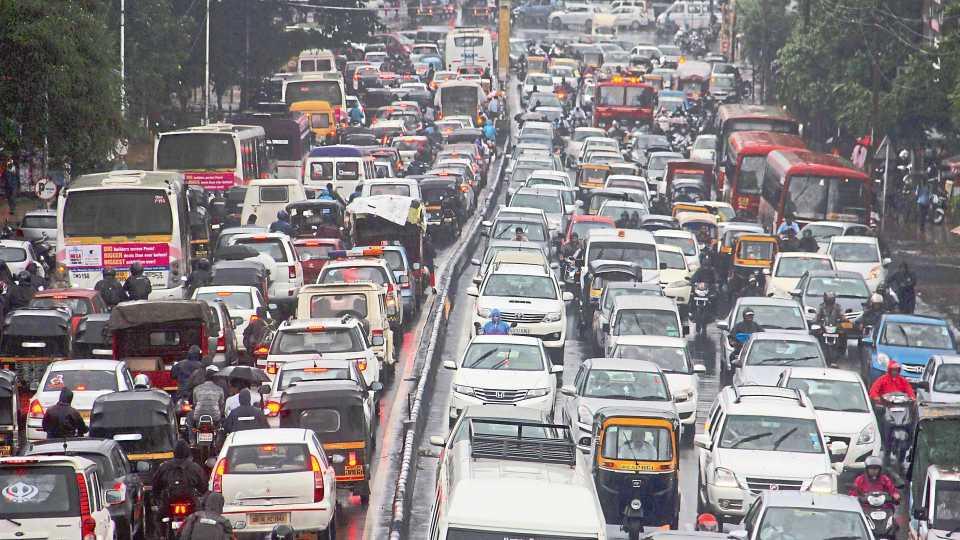 Pune Traffic Jam
