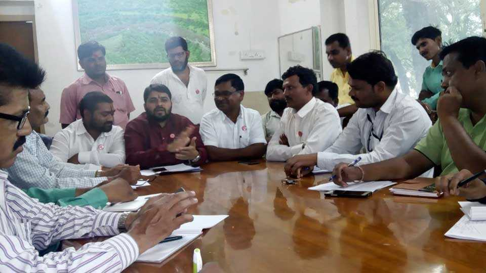 Milk movement for a grant of 5 rupees to Liters