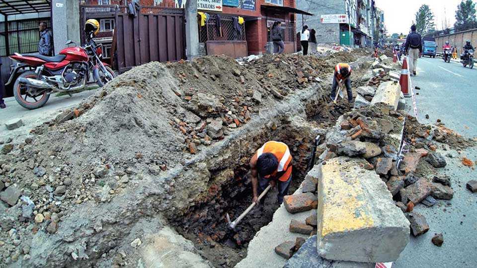 Road-Digging