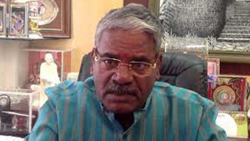Let the farmers get the right compensation says MP Shivajirao Adhalrao