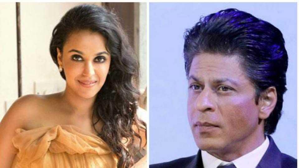 Swara Bhaskar refuses to play Shah Rukh Khan'