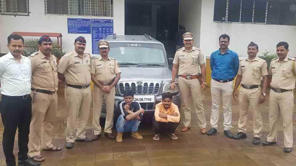 Talegaon police seized two and half lakh liquor