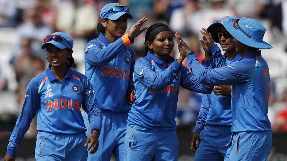 Team India in ICC Women's World Cup